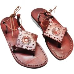 Biblical Jesus Sandals 'Queen Esther' Made in the Holy Land - Leather