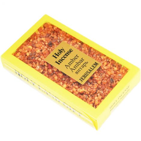 Holy Land Gift - Incense from Jerusalem - Amber - 100 gram