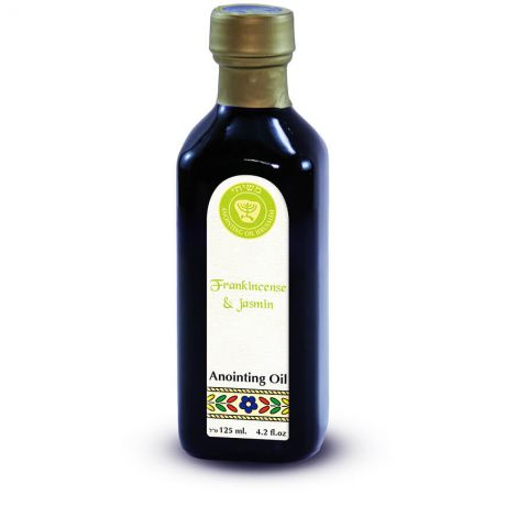 125ml Frankincense & Jasmin Anointing Oil from Ein Gedi - Made in Israel