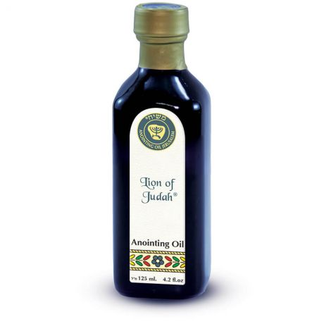 125ml Lion of Judah Anointing Oil from Ein Gedi - Made in Israel