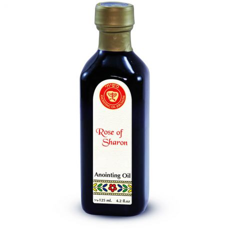 125ml Rose of Sharon Anointing Oil from Ein Gedi - Made in Israel