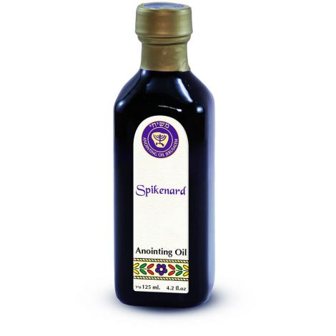125ml 'Spikenard' Anointing Oil from Ein Gedi - Made in Israel