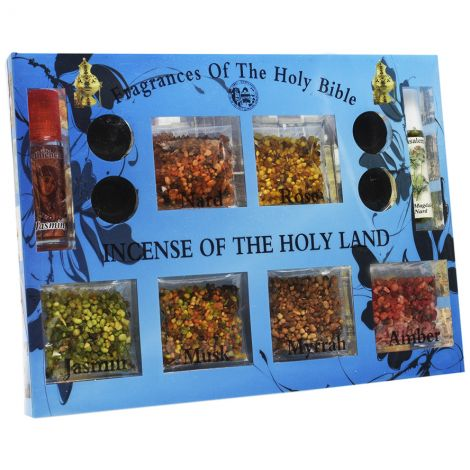 Incense of the Holy Land with Fragrances Kit - Made in Jerusalem