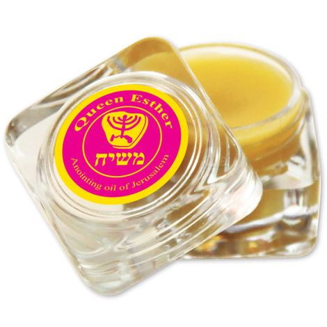 Messiah healing anointing balm - Queen Esther - Made in Israel - 5 ml