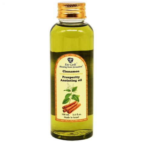 Prosperity Anointing Oil - Cinnamon - Made in Jerusalem - 100 ml