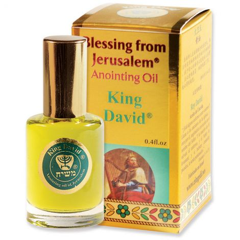 'King David' Anointing Oil - Blessing from Jerusalem - Gold 12 ml