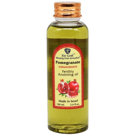 Fertility Anointing Oil - Pomegranate - Made in Jerusalem - 100 ml