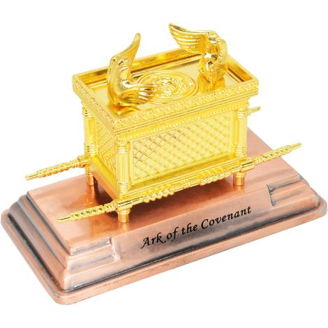 Ark of the Covenant - Gold Plated Replica from Israel - Small