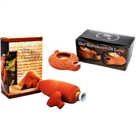 Biblical 'Dead Sea Scrolls' & 'Clay Lamp' Sunday School Educational Kit