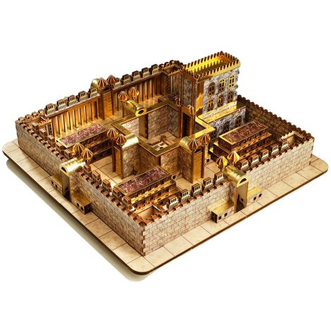 Ezekiel's Vision - Third Temple - DIY Wood Kit - Made in Israel