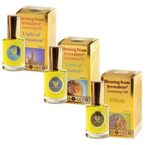 Powerful worship preparation triple set Anointing Oils - Gold 12 ml