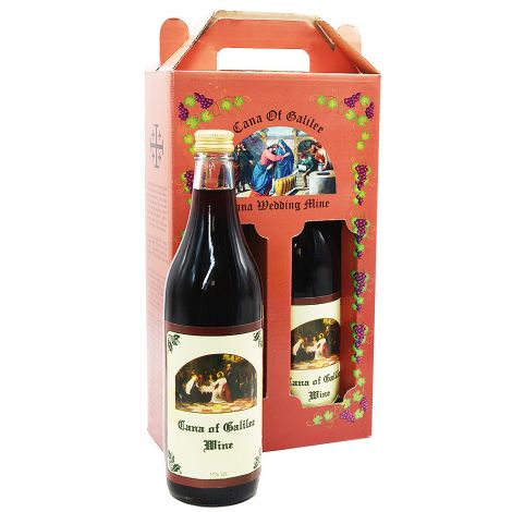 Cana Wedding Wine - Jesus' First Miracle - 2 x 750 ml Bottles