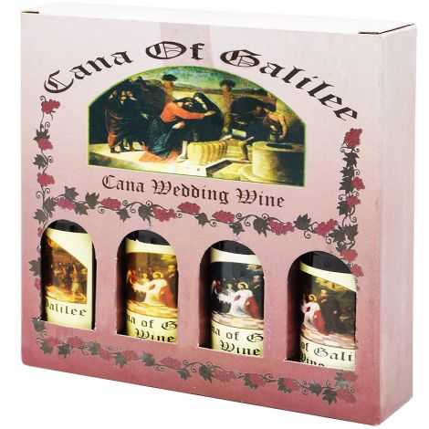 Cana Wedding Wine - Jesus' First Miracle - Holy Land Souvenir
