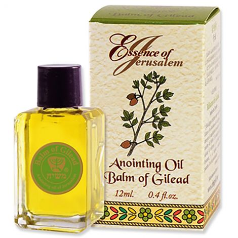 Anointing Oil - Essence of Jerusalem - Balm of Gilead - 12 ml