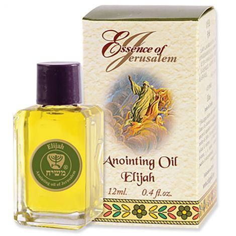 Essence of Jerusalem - Elijah Anointing Oil from Israel - 12 ml