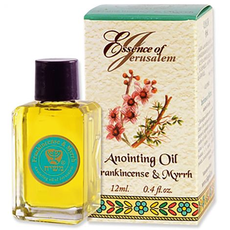 Essence of Jerusalem - Frankincense and Myrrh Anointing Oil - 12 ml