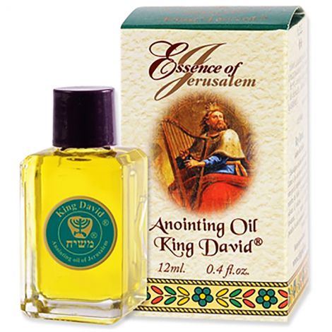 Essence of Jerusalem - King David Anointing Oil - 12 ml