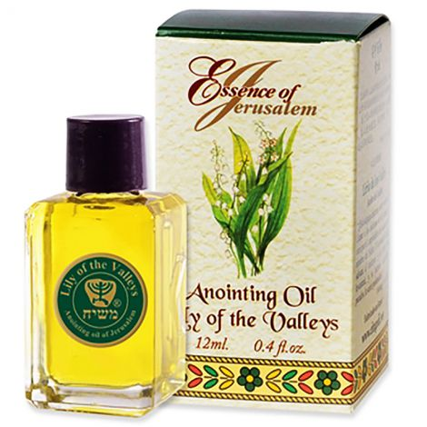Essence of Jerusalem - Lily of the Valley Anointing Oil - 12 ml