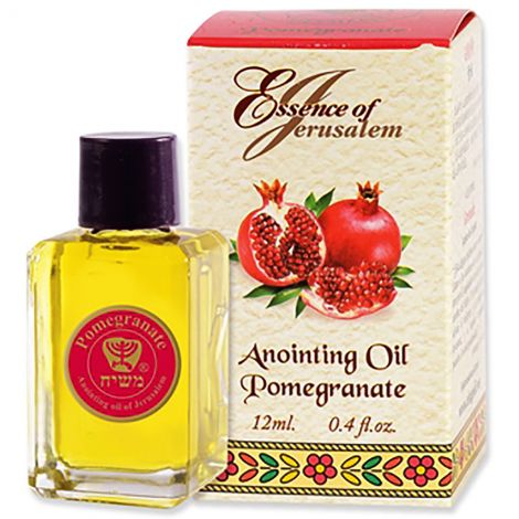 Anointing Oil - Essence of Jerusalem - Pomegranate 12 ml