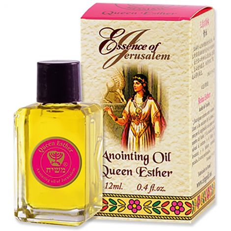 Anointing Oil - Essence of Jerusalem - Queen Esther - 12 ml