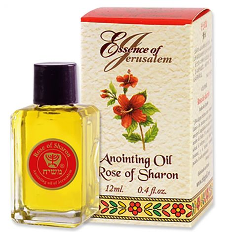 Essence of Jerusalem - Rose of Sharon Anointing Oil from Israel - 12 ml