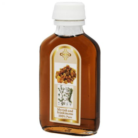 Frankincense and Myrrh Anointing Oil from the Holy Land - 120 ml