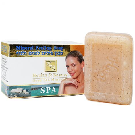 Mineral Peeling Soap with Dead Sea Minerals - Made in Israel