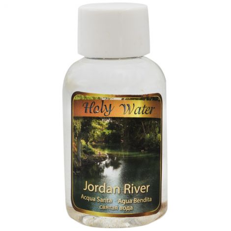Holy Water from the Jordan River - Baptism Water 60 ml