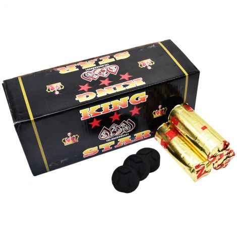 Charcoal Briquettes for Burning Incense - Box of 20 Rolls