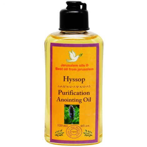Purification Anointing Oil - Hyssop - Jerusalem Oils - 120 ml