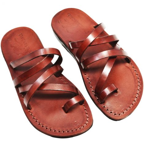Biblical Sandals 'Isaiah' Made in the Holy Land - Leather
