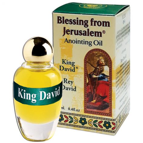 'King David' Anointing Oil - Holy Prayer Oil from Israel - 12 ml