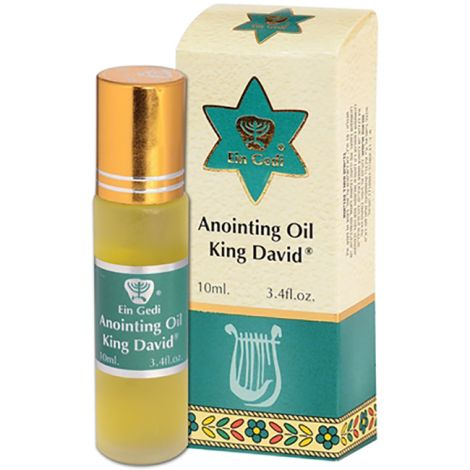 King David Anointing Oil - Roll-On Prayer Oil - 10 ml