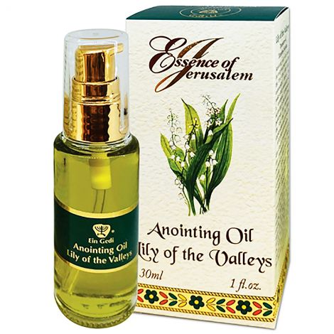 Anointing Oil - Essence of Jerusalem - Lily of the Valleys - 30 ml