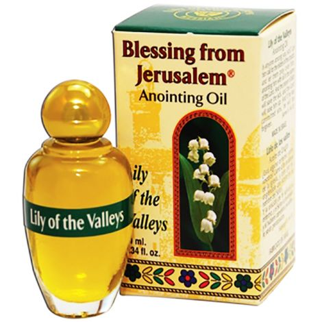 Lily of the Valleys Anointing Oil - Holy Prayer Oil from Israel - 12 ml