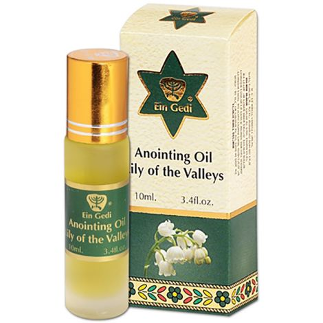 Lily of the Valleys Anointing Oil - Roll-On Prayer Oil - 10 ml