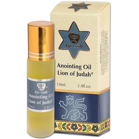 Lion of Judah Anointing Oil - Roll-On Prayer Oil - 10 ml
