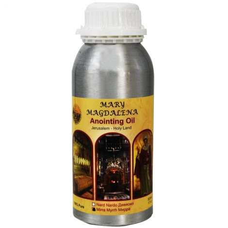 Mary Magdalena 'Myrrh' Anointing Oil - Jerusalem Prayer Oil - 500 ml