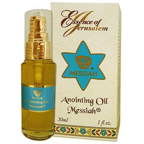 Anointing Oil - Essence of Jerusalem - Messiah - 30 ml