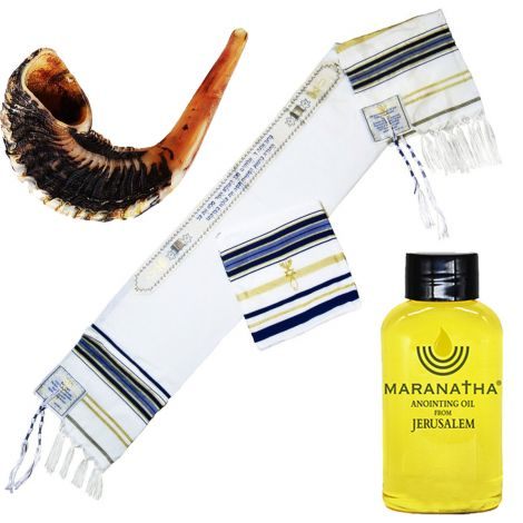Messianic 'Prayer Warrior' Tallit