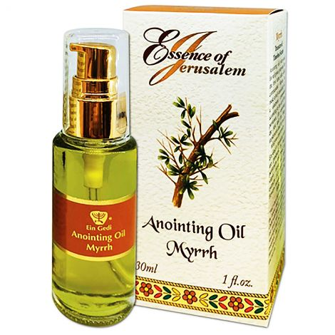 Anointing Oil - Essence of Jerusalem - Myrrh - 30 ml