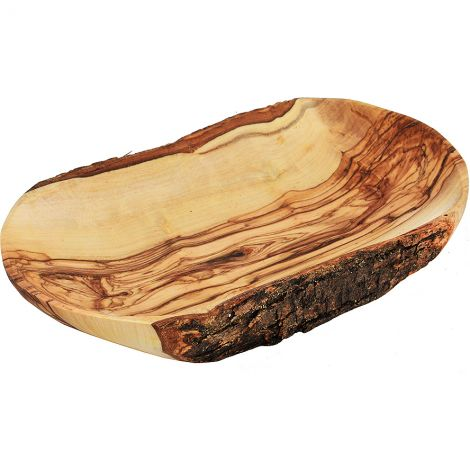 Lord's Supper' Olive Wood Rectangle Communion Tray - Holy Land