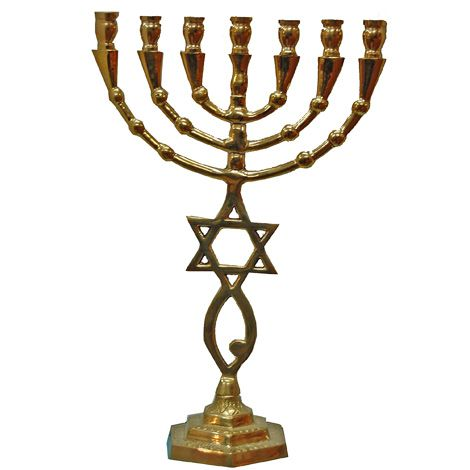 Large Messianic Grafted in Menorah