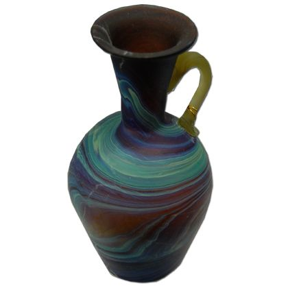 Phoenician Style Vase with Handle - Holy Land - Brown
