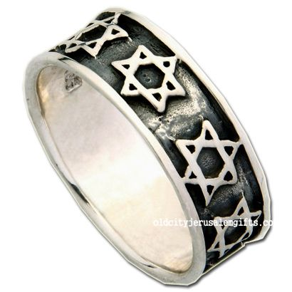 Star of David Ring - Sterling Silver - Made in Israel