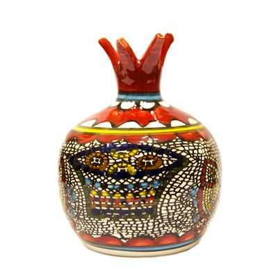 Armenian Ceramic 'Tabgha' Pomegranate - Holy Land
