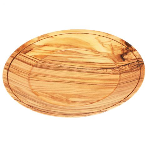 Grade A Olive Wood Serving Dish - Made in the Holy Land - 5""