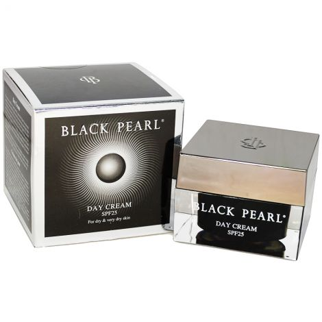 Black Pearl Day Cream – SPF 25 with Dead Sea Minerals - Made in Israel