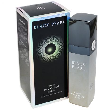 Black Pearl Light Day Cream – SPF 25 with Dead Sea Minerals - Made in Israel
