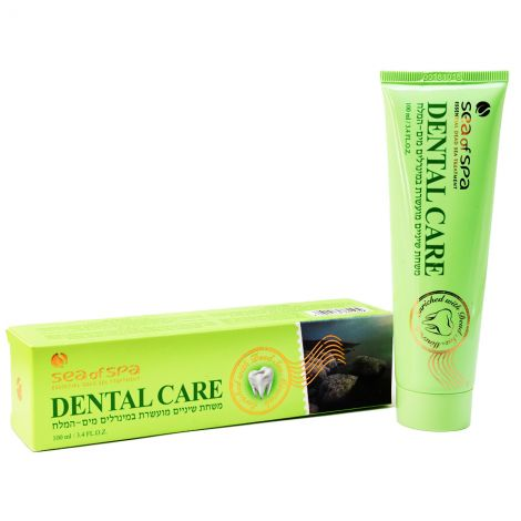 Dead Sea Minerals Dental Care - Made in Israel by Sea of Spa